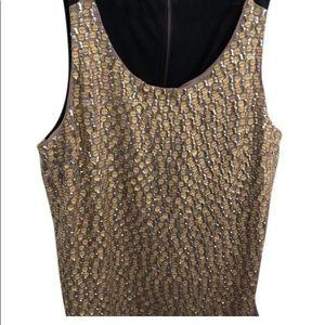 Cynthia Steffe Gold Silver Black Tank Top/Cami  8